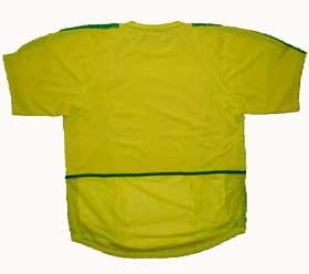 ブラジル代表02-03ホーム 後ろ