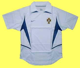 ポルトガル代表02-03アウェイ 正面