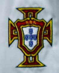 ポルトガル代表02-03アウェイ エンブレム拡大