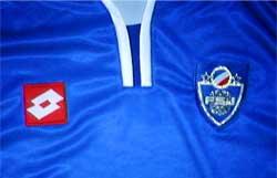 セルビア・モンテネグロ代表02-03ホーム 胸拡大
