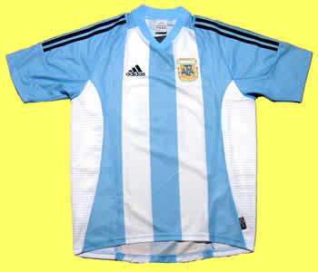 アルゼンチン代表04-05ホームアイマール サイン入り 正面