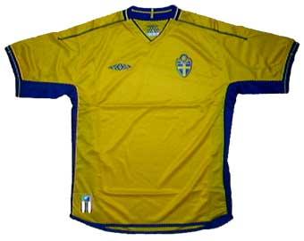 スウェーデン代表03-04ホーム 正面
