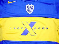 ボカ・ジュニオルス03-04ホーム XENTENARIO(100周年)