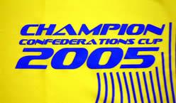 ブラジル代表2005コンフェデレーションズカップ優勝記念T−シャツ CHAMPION CONFEDRATIONS CUP