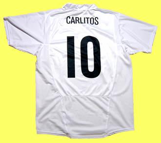 コリンチャンス2005ホーム・テベス CARLITOS・背番号10