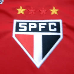 サンパウロ2005クラブ世界選手権トレーニングシャツ エンブレム拡大