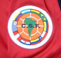 サンパウロ2005クラブ世界選手権トレーニングシャツ Confederacion Sudamericana de Futbol