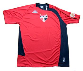 サンパウロ2005クラブ世界選手権トレーニングシャツ 正面