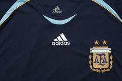 アルゼンチン代表06-07アウェー 胸拡大