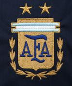 アルゼンチン代表06-07アウェー エンブレム