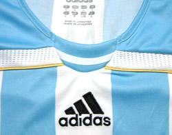 アルゼンチン代表06-07ホーム リケルメ 襟周り