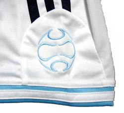 アルゼンチン代表06-07ホーム リケルメ 袖に+Teamgeistのマーク