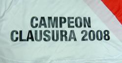 リーベルプラタ CAMPEON CLAUSURA 2008