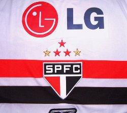 サンパウロ2008ホーム スポンサーLG