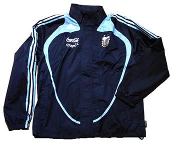 アルゼンチン代表08-09レイン・ジャケット スポンサー付きレイン・ジャケット