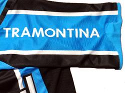 グレミオ2009ホーム 袖にスポンサーTRAMONTINA