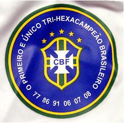 サンパウロFC09-10ホーム 6度の優勝を記念