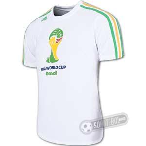 ワールドカップ開催記念T-シャツ 左横