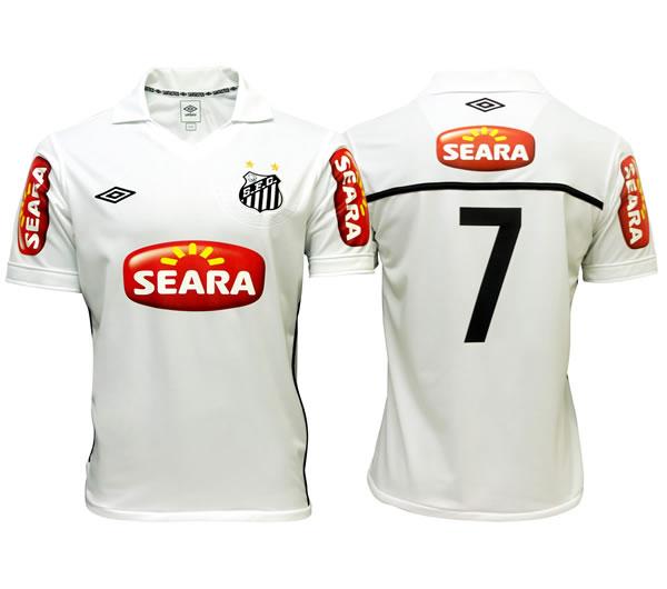 サントス2010ホーム SEARA 背番号7